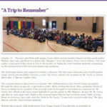 Articles - Hallsville Intermediate School: A trip to remember