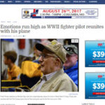 Articles - Columbia Missourian: Emotions run high as WWII fighter pilot reunites with his plane