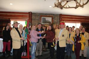 Tom T's Hat Rack ribbon cutting